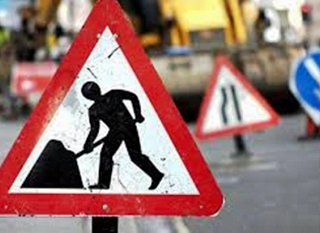 Surface dressing works on A15 temporarily suspended